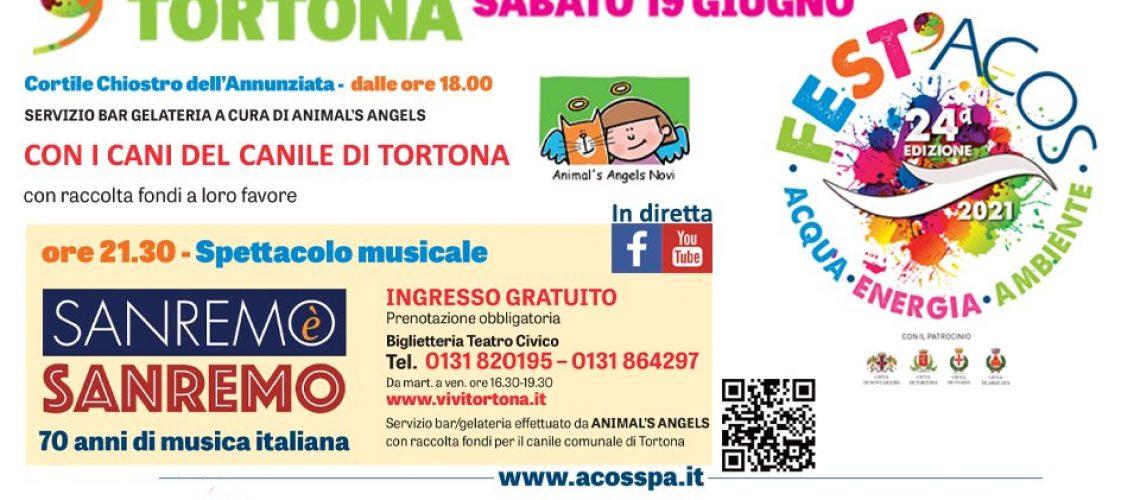 Fest'Acos - Tortona: Concerto Sanremo è Sanremo