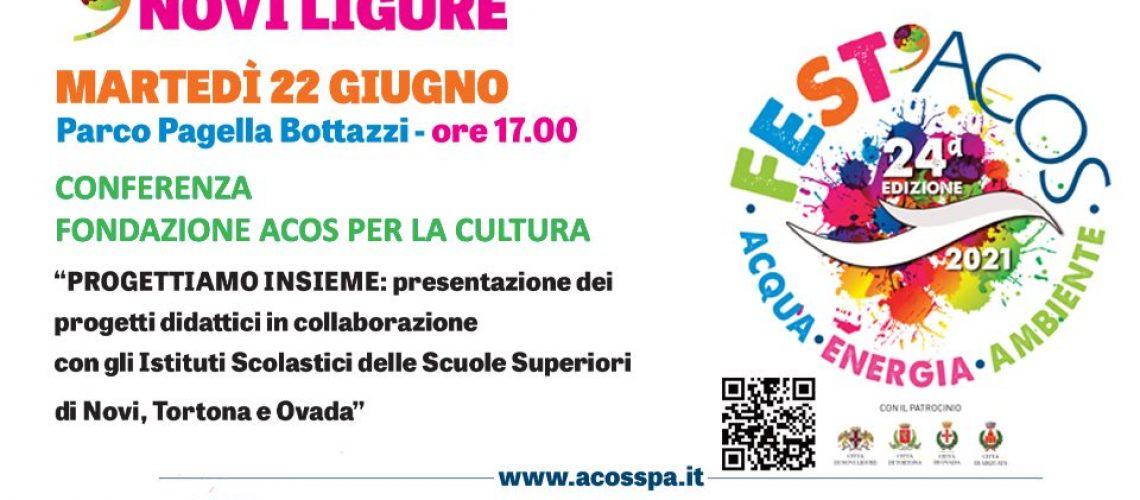 Fest'Acos - Novi Ligure: Conferenza Fondazione ACOS per la Cultura
